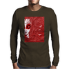 CAUGHT (Red Version) Mens Long Sleeve T-Shirt
