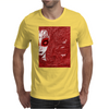 CAUGHT (Red Version) Mens T-Shirt