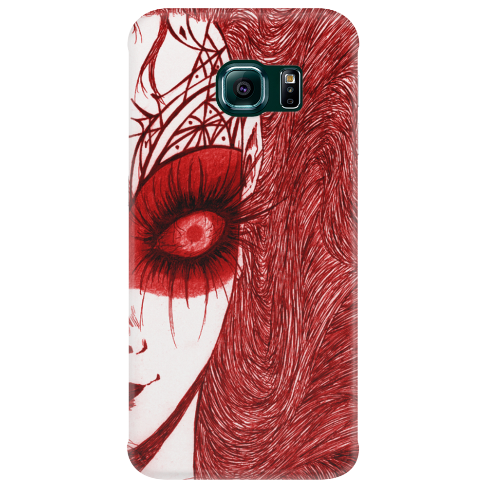 CAUGHT (Red Version) Phone Case
