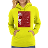 CAUGHT (Red Version) Womens Hoodie