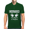 Caution! Jazz handsFunny jazz dance comic boogie camp trumpet Mens Polo