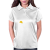 Caution Men At Work Womens Polo