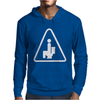 Caution Pooping Mens Hoodie