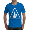 Caution Pooping Mens T-Shirt
