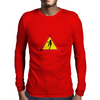 Caution, Zombies. Mens Long Sleeve T-Shirt