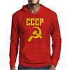 CCCP Hammer & Sickle  Soviet Union Communist Communism Russia Red Star Mens Hoodie