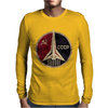 CCCP Russian Soviet USSR Mens Long Sleeve T-Shirt