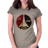 CCCP Russian Soviet USSR Womens Fitted T-Shirt