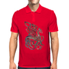 Celtic Gryphon Mens Polo
