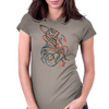 Celtic Gryphon Womens Fitted T-Shirt