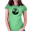 Celtic Tree Womens Fitted T-Shirt