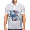 Celtic unicorn Mens Polo