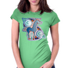 Celtic unicorn Womens Fitted T-Shirt