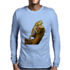 central bearded dragon Mens Long Sleeve T-Shirt