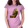 central bearded dragon Womens Fitted T-Shirt