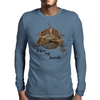 central pagona bearded dragon Mens Long Sleeve T-Shirt