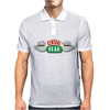 Central Perk Cafe Logo Mens Polo
