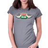 Central Perk Cafe Logo Womens Fitted T-Shirt