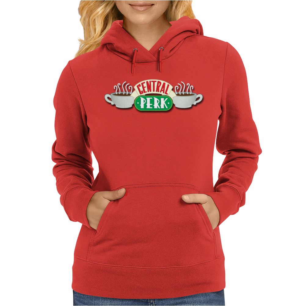 Central Perk Cafe Logo Womens Hoodie