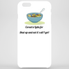 Cereal is latin for shut up it's all I got Phone Case
