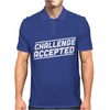 Challenge Accepted Mens Polo