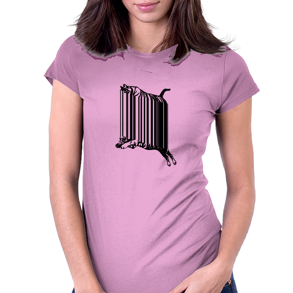 Changing Stripes Tiger Womens Fitted T-Shirt