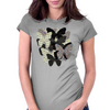 Chaos Butterflies Womens Fitted T-Shirt