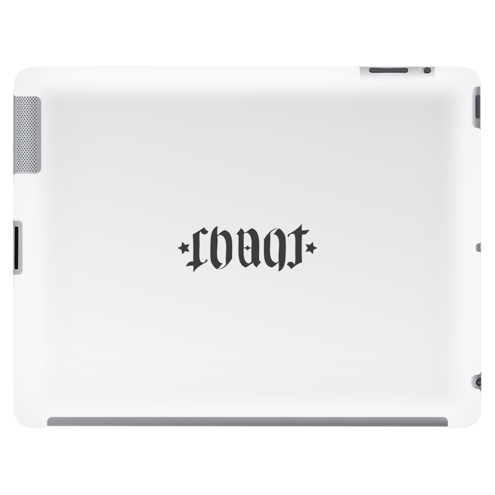 Chaot Ambigramm horizontal  Tablet (horizontal)
