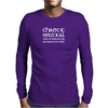 Chaotic Neutral I Like To Keep My Options Mens Long Sleeve T-Shirt
