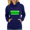 Charged and ready! Womens Hoodie