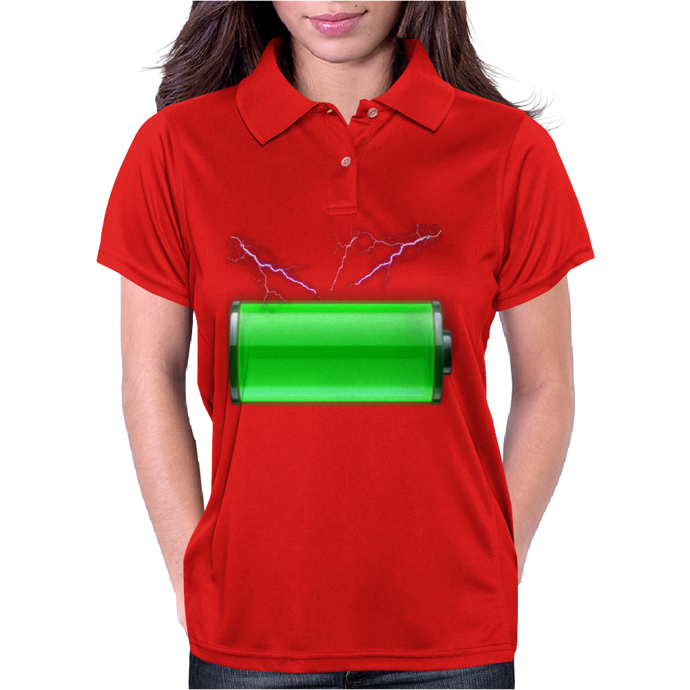 Charged and ready! Womens Polo