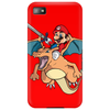 Charizard and Mario Phone Case