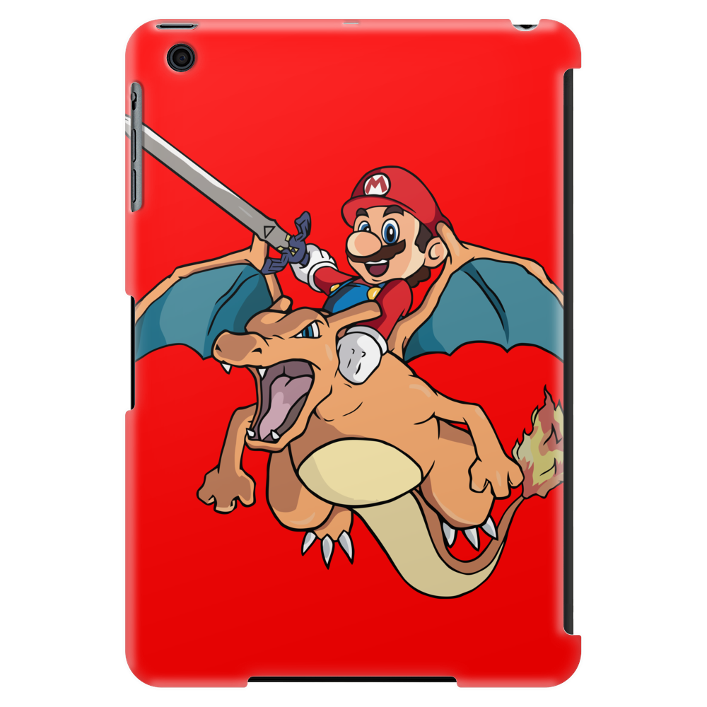 Charizard and Mario Tablet (vertical)