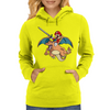 Charizard and Mario Womens Hoodie