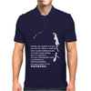 Charles Bukowski Quote Mens Polo