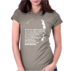 Charles Bukowski Quote Womens Fitted T-Shirt