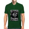 Charles Bukowski The Pleasures Of The Damned Mens Polo