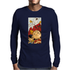 Charlie Brown Snoopy Mens Long Sleeve T-Shirt