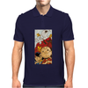 Charlie Brown Snoopy Mens Polo