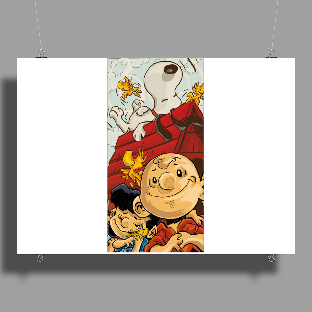 Charlie Brown Snoopy Poster Print (Landscape)