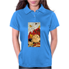 Charlie Brown Snoopy Womens Polo