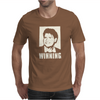 CHARLIE SHEEN - WINNING - OFFICIAL Mens T-Shirt