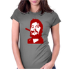 Che Guevara Cigar On Womens Fitted T-Shirt