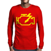 Check Engine Light Mens Long Sleeve T-Shirt