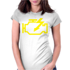Check Engine Light Womens Fitted T-Shirt