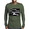Checkmate Game Over Mens Long Sleeve T-Shirt