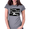 Checkmate Game Over Womens Fitted T-Shirt