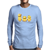 Cheeky Minions Iron on T shirt Transfer,bibs,bags and Cushions Mens Long Sleeve T-Shirt