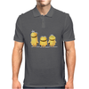 Cheeky Minions Iron on T shirt Transfer,bibs,bags and Cushions Mens Polo