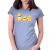 Cheeky Minions Iron on T shirt Transfer,bibs,bags and Cushions Womens Fitted T-Shirt